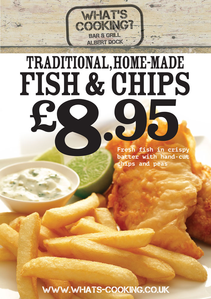 Dining deals and offers whats cooking bar grill for Docks fish menu